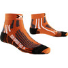 X-Socks Run Speed Two Short Socks Orange/Black